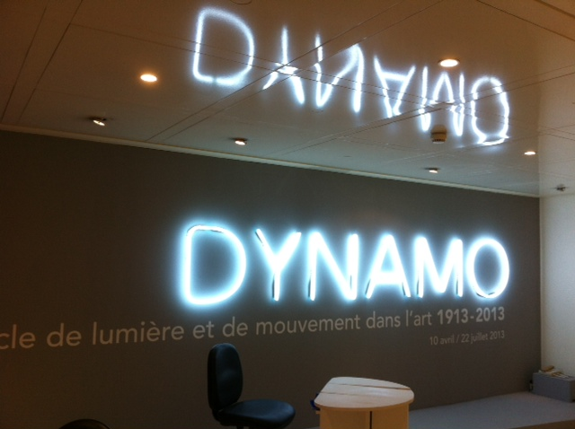 Exposition Dynamo au Grand Palais (merci FaberNovel)
